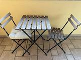 Tavolino e sedie da esterno ikea