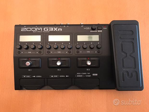 Pedaliera Chitarra Elettrica - Zoom G3Xn