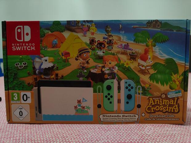 Nintendo Switch limited edition Animali Crossing