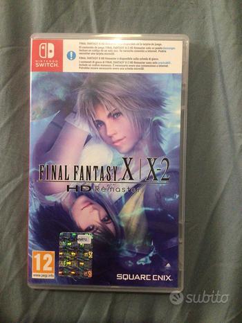 Final fantasy X per nintendo switch