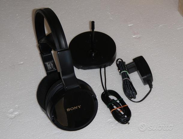 Cuffia wireless FM senza fili Sony MDR-RF811RK