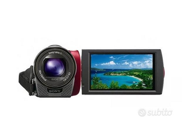 Videocamera portatile digitale con accessori TV
