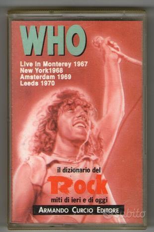Cassetta who live 1967 - 1970 originale