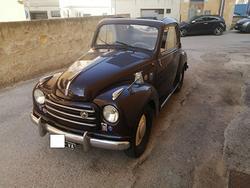 FIAT TOPOLINO DECAPPOTTABILE 1952 TARGHE ORIGINALI