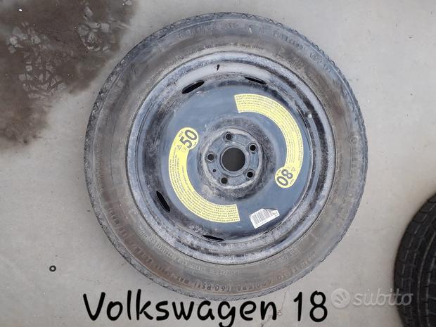 Ruotino ruota di scorta volkswagen R18 #1