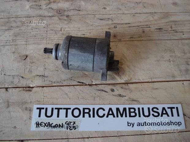 Motorino Avviamento Hexagon GTX 125 180
