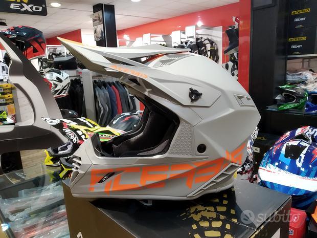 Casco motocross acerbis x-track fibra