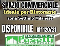 SPAZIO COMMERCIALE in zona Settimo Milanese