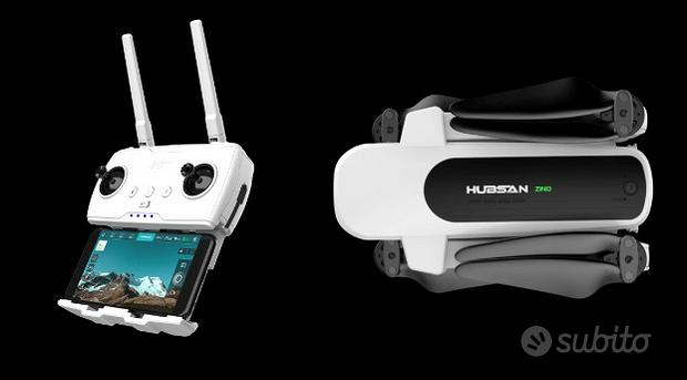 Hubsan ZINO drone 4K gimbal 3 assi GPS 23min volo
