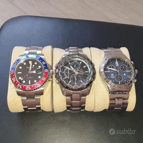 Set orologi, funzionanti e da revisionare