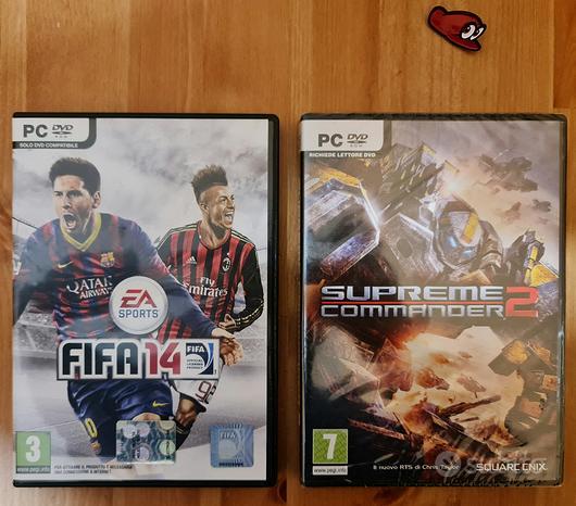 Giochi PC Fifa + Supreme Commander