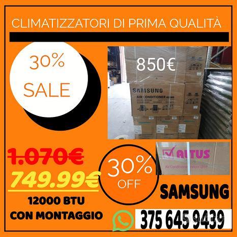 Climatizzatore SAMSUNG 12000 btu