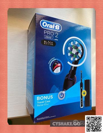 Oral-B PRO 2 black edition -- NUOvO-