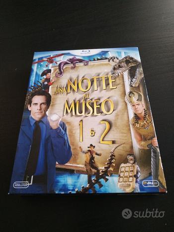 Cofanetto con 2 dvd Blu-ray Notte al Museo 1 e 2