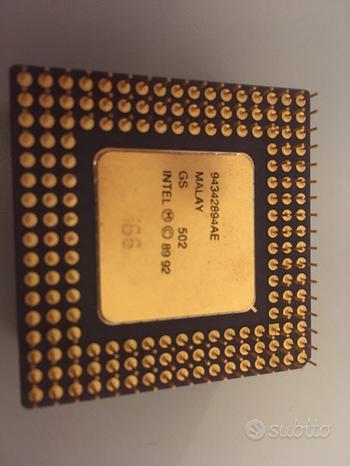 CPU per Collezione (486/Pentium PRO/Pentium II)