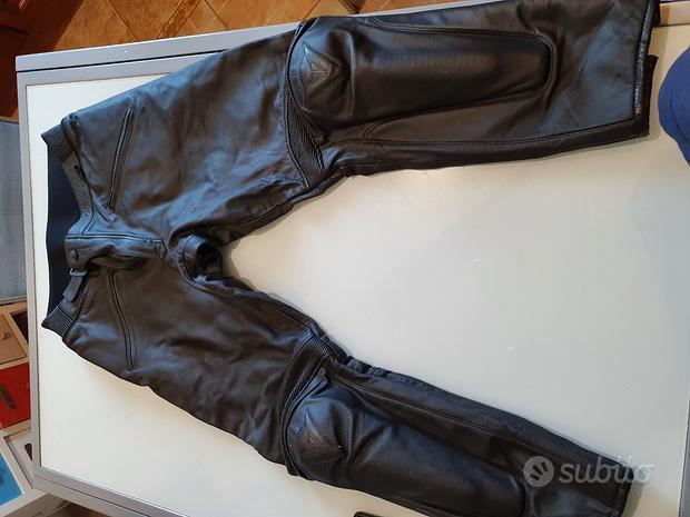Pantalone tuta pelle tg 54