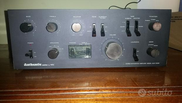 Nec aua-7000e authentic series amplificatore hi-fi