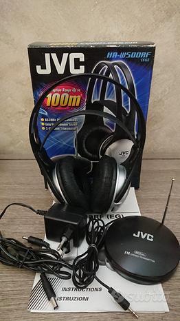 Cuffia stereo senza fili FM JVC HA-W500RF