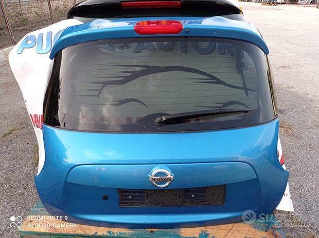 Portellone-cofano posteriore Nissan juke