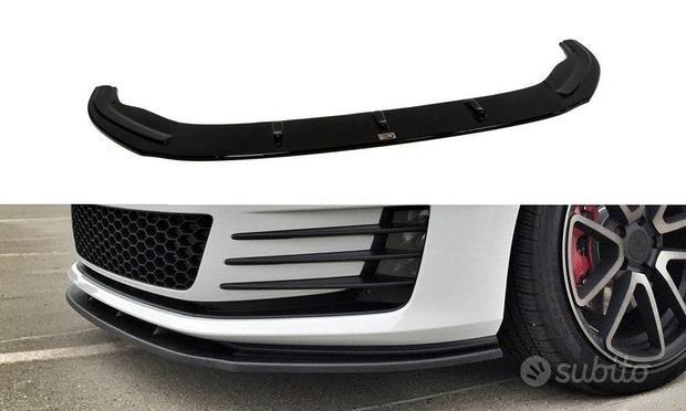 SPLITTER ANTERIORE VW GOLF VII GTI NERO LUCIDO