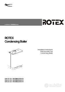 Caldaia Daikin Rotex RKOMB28AAV1H condensazione