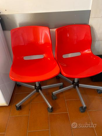 2 sedie girevoli ikea Mod. Snille