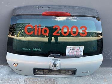 Portellone posteriore renault clio 2003 3 e 5 port