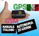 LOCALIZZATORE GPS BATTERIA 20 GIORNI MICROSPIA gsm