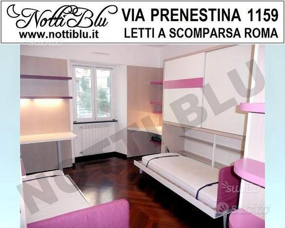 Letto a Scomparsa Singolo VE163 Via PRENESTINA