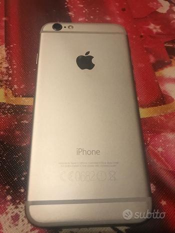 Iphone 6 con space gray nuovo e batteria nuova