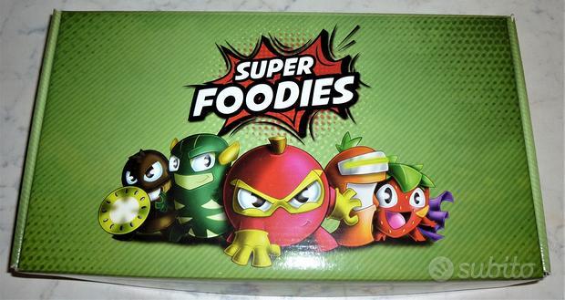 Super Foodies Esselunga 3D + 34 carte
