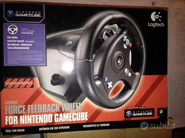 Voante Force Feedback Wheel Nintendo GameCube