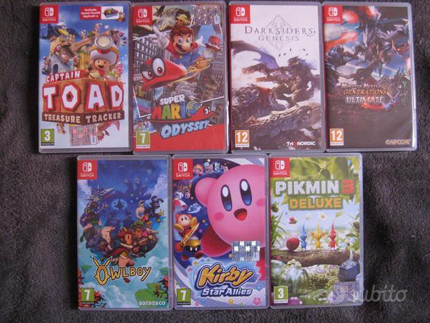 Giochi Nintendo Switch 7 Lotto Mario Pikmin altro
