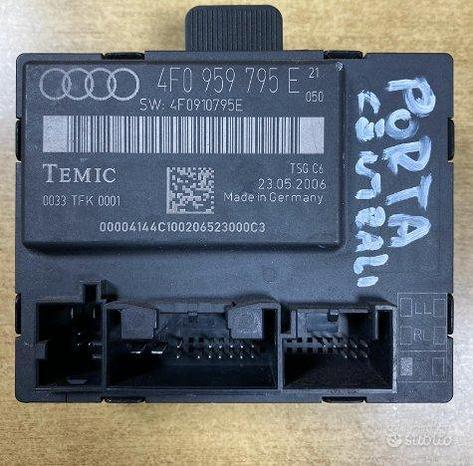 Centralina porta post sx originale Audi