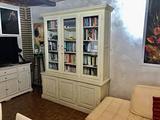 Libreria Credenza Vetrinetta Shabby chic