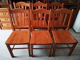 Set 6 sedie in legno in stile arte povera per sala