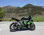 Kawasaki ninja zx6 r 636