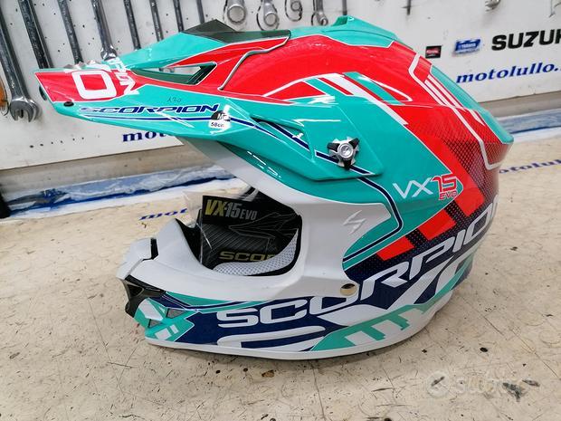 Casco motocross nuovo scorpion
