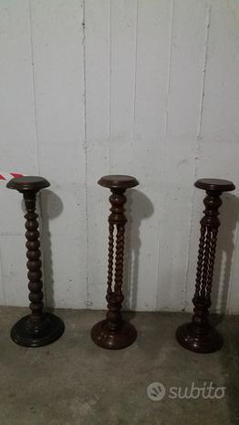Vendita porta vasi di legno