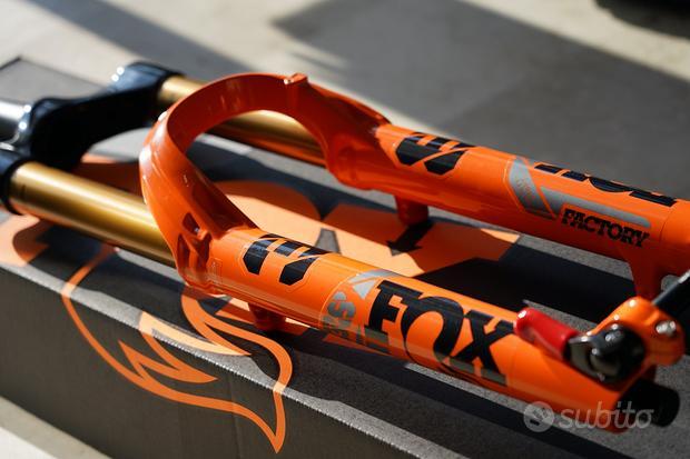 """Forcella FOX 38 GRIP2 29""""/27,5+ Orange 2022 NUOVA"""