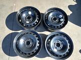 4 cerchi ferro 16 Renault 5x114,3 6,5x16 et47