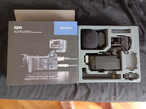 Zoom - Q8/IFS -registratore digitale audio e video