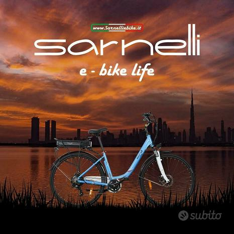 Bicicletta elettrica ruota 28 donna canna bassa 36