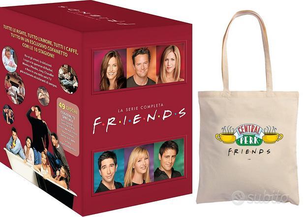 Friends dvd serie completa 1-10 NUOVO + borsa