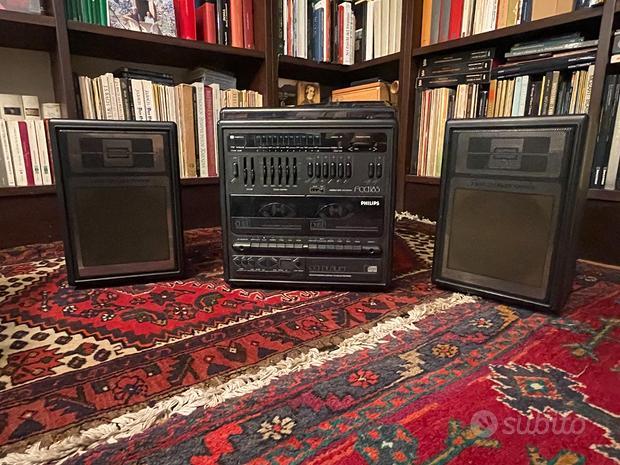 Stereo Philips FCD185 - Giradischi CD Radio MC
