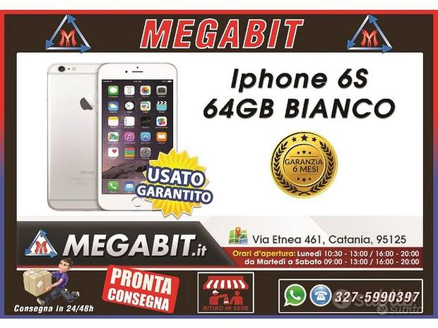 Iphone 6S 64Gb Bianco con Garanzia