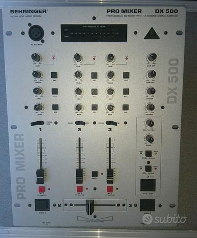 Mixer Behringer PRO MIXER DX500 nuovo