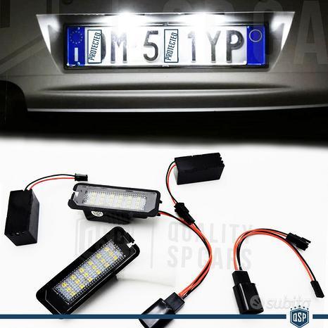 2 PLACCHE TARGA FULL LED CANBUS PER Volkswagen