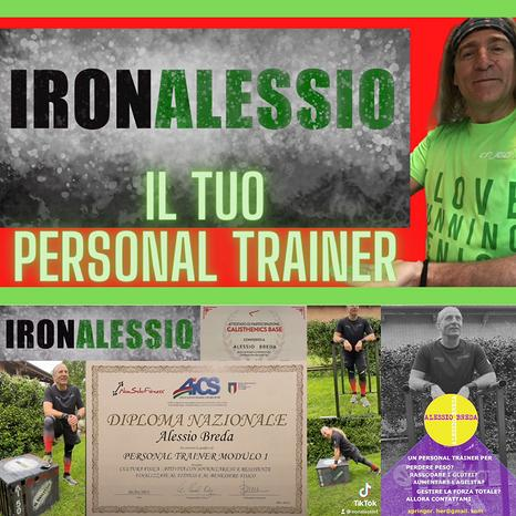 Personal Trainer & Coaching On-Line