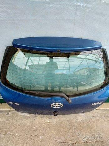 Portellone posteriore completo Toyota Yaris 2007